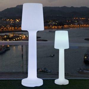 NEW GARDEN lampa ogrodowa CARMEN 110 C biała - LED