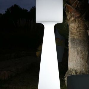 NEW GARDEN lampa ogrodowa GRACE 170 C biała - LED
