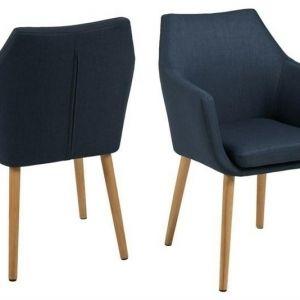 ACTONA krzesło NORA  - tkanina ciemnoniebieskie