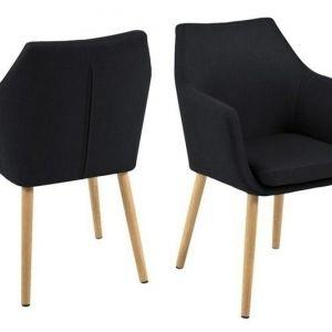 ACTONA krzesło NORA  - tkanina antracyt