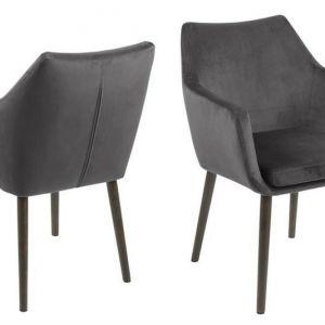 ACTONA krzesło NORA  - tkanina ciemnoszary
