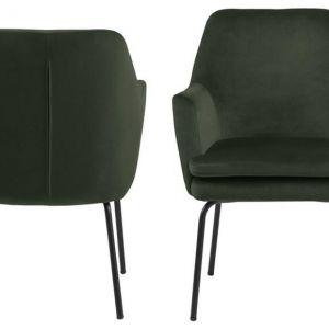 ACTONA krzesło CHISA  - ciemnozielony