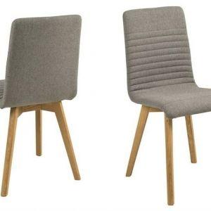 ACTONA krzesło tapicerowane AROSA -jasnoszary