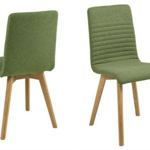 ACTONA krzesło tapicerowane AROSA -zielony