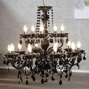 INVICTA lampa wisząca DIAMONDS 15  - czarny