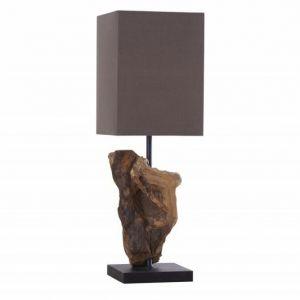 INVICTA lampa biurkowa HYPNOTIC - brązowa