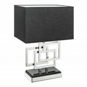 INVICTA lampa biurkowa LEONOR - srebrna