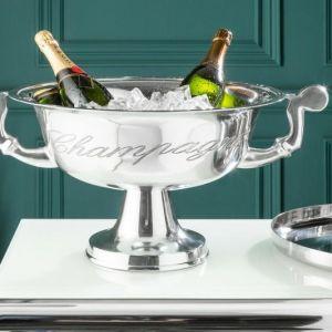 INVICTA CHAMPAGNE 65 cm chłodziarka do szampana - aluminium