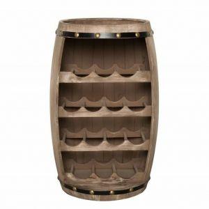 INVICTA stojak na wino BODEGA 60 cm  - drewno naturalne
