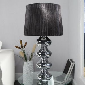 INVICTA lampa biurkowa MIA  - czarny